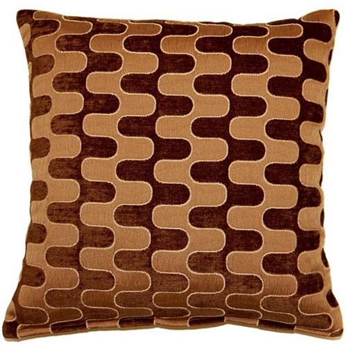 Fox Hill Trading Tingari Chocolate 17-inch Throw Pillows (Set of 2)