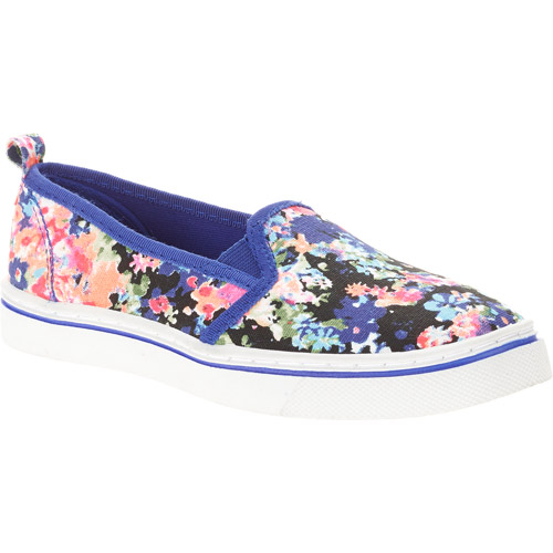 Faded Glory Casual Elastic Canvas Slip-On Shoe