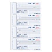 Rediform, REDS1657NCL, Hardbound Numbered Money Receipt Books, 1 Each, White,Canary,Pink