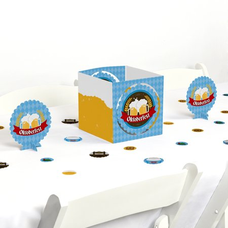 Oktoberfest - German Beer Festival Centerpiece & Table Decoration Kit - German Oktoberfest Decorations