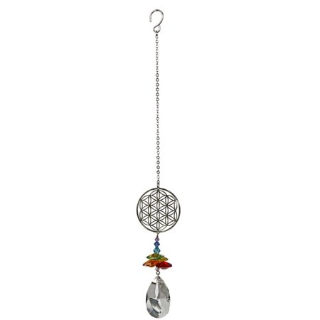 Woodstock Crystal Fantasy Flower of Life Light Suncatcher Home Decoration - Woodstock Decorations