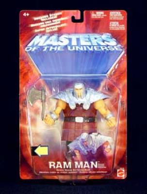 Masters of the Universe MOTU 200X Ram Man Action Figure by Mattel by Mattel