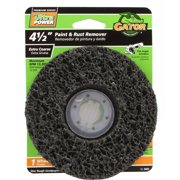 Gator 4-1/2-Inch Paint and Rust Remover Extra Coarse Grit 1-Pack, 9483