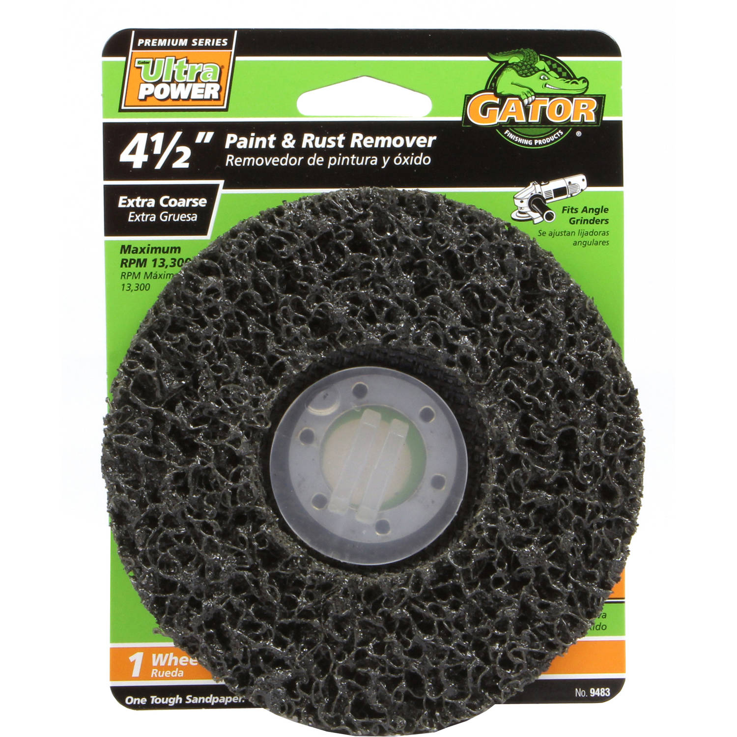 "Gator Grit 4.5"" Paint and Rust Stripper, Extra Coarse"