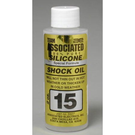 5427 Silicone Shock Fluid 15 Weight 2 oz