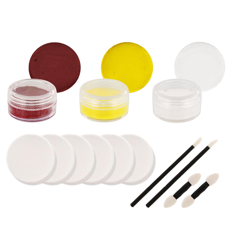 REDSKINS Football FACE PAINTING SET Makeup Paint Kit