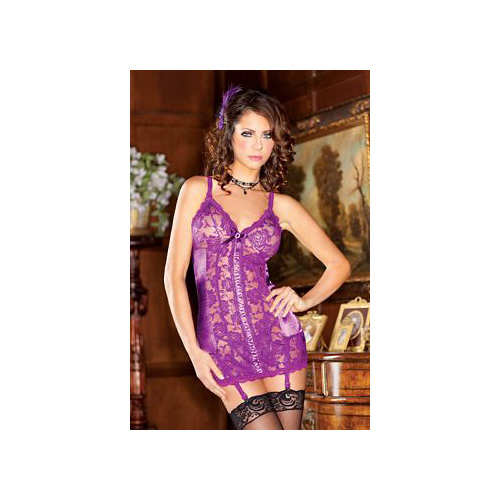 iBasic Intima Purple Chemise Duo 7670 Purple