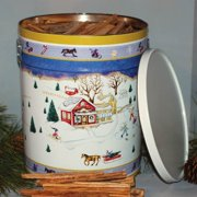 Fatwood In Holiday Tin - Design Varies
