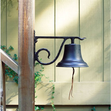 Large Country Bell, Black Black Large Country Bell