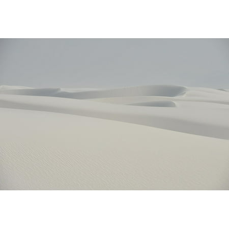 Canvas Print National Mexico Sand Sands Monument New White Stretched Canvas 10 x 14