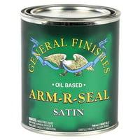 General Finishes, ARM-R-SEAL, Satin, Quart