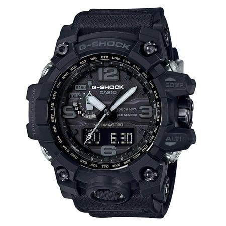 Men's Casio G-Shock Triple Sensor Mudmaster Black Watch GWG1000-1A1 ()