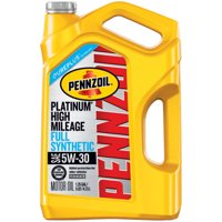 Deals on Pennzoil Platinum High Mileage 5W-30 Synthetic Motor Oil 5-qt