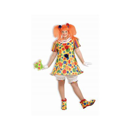 COSTUME-GIGGLE THE CLOWN-PLUS