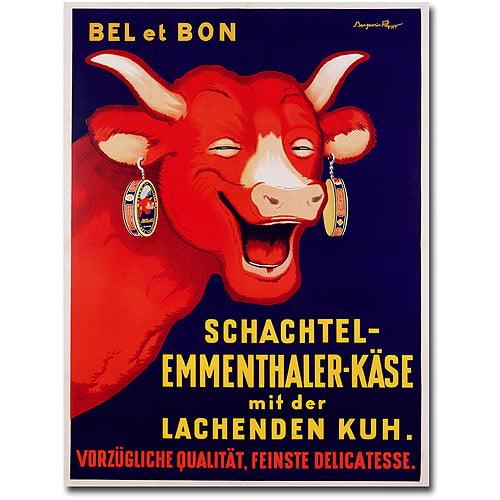 """Trademark Art """"Bel et Bon, 1929"""" Canvas Wall Art by Benhamin Rabier"""