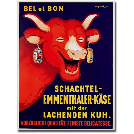 "Trademark Art ""Bel et Bon, 1929"" Canvas Wall Art by Benhamin Rabier"