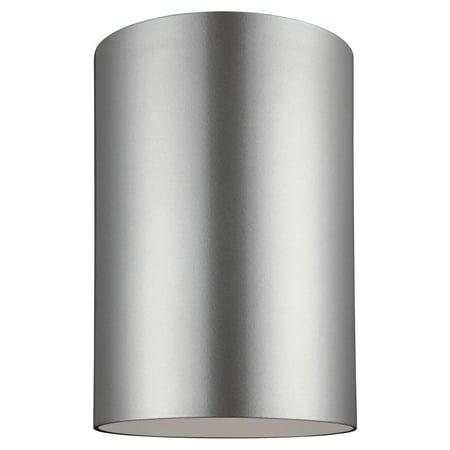 Sea Gull Lighting Outdoor Bullets 7813901-753 Large 1-Light Outdoor Ceiling Flush -