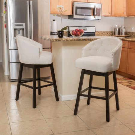 Jeremy 29 in. Swivel Bar Stool with Cushion - Set of