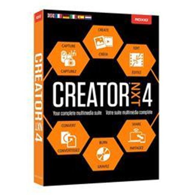 Corel RCRNXT4MLMBAM Creator Next 4 Mountain Lion Mini Box - Windows 7, 8 & 8.1