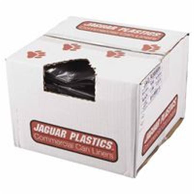 Jaguar Plastics 574-R3858H Low-Density Repro Can Liners 60 gal.  1. 5 Mil
