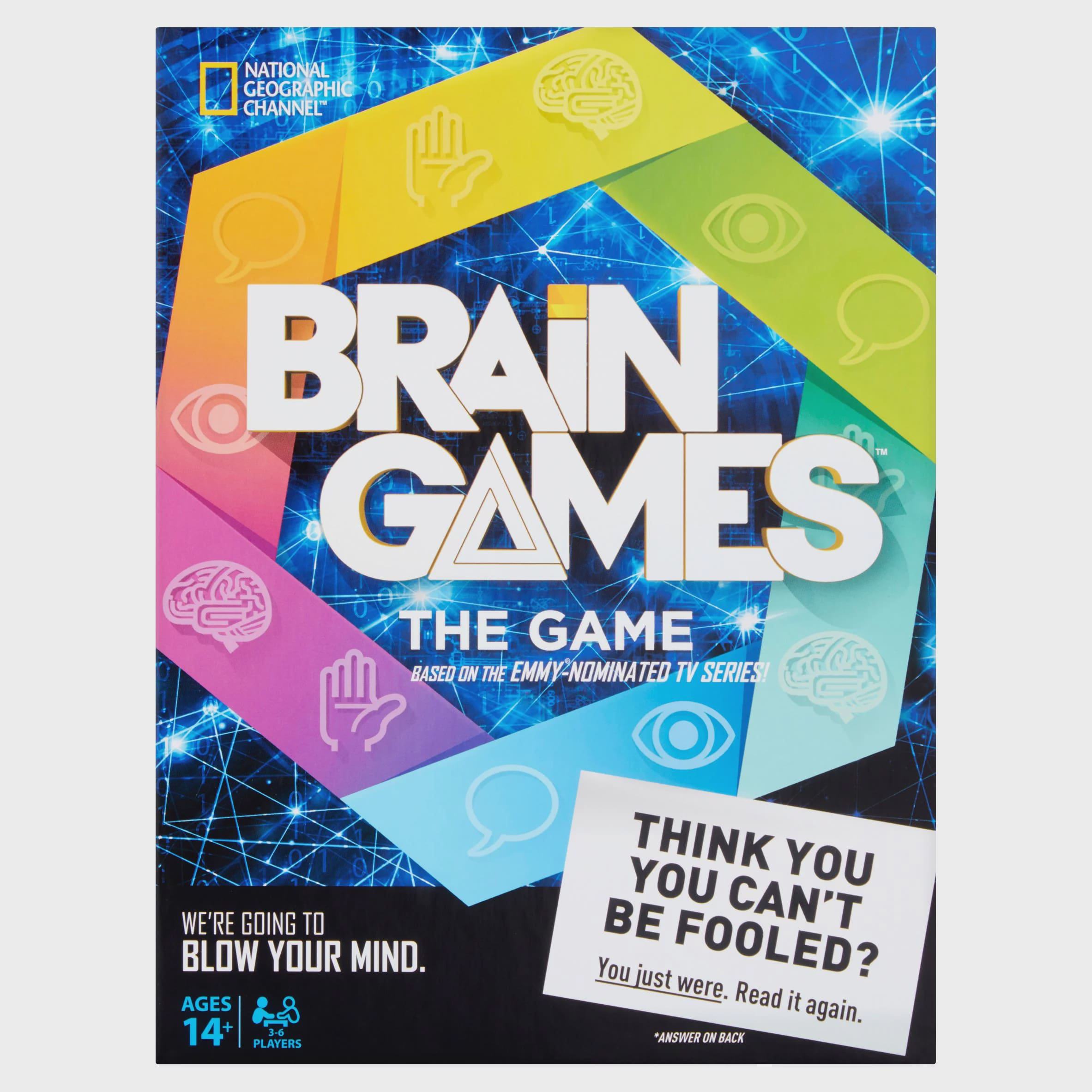 National Geographic Brain Games The Game by Buffalo Games, LLC