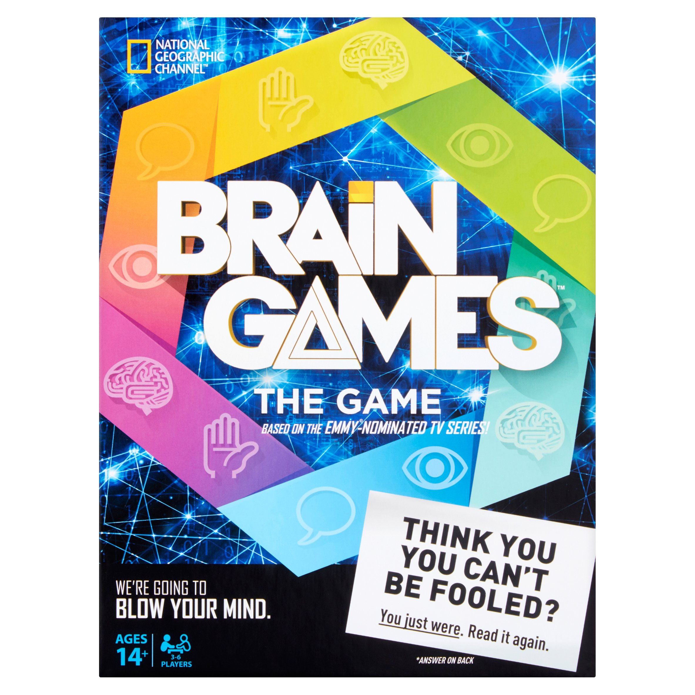 National Geographic Brain Games The Game