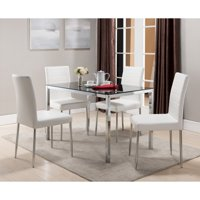 K & B Furniture Belmont White Dining Chair - Set of 4