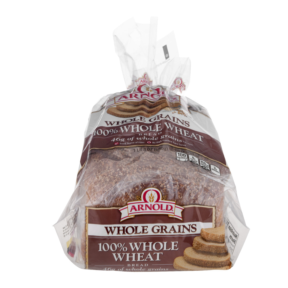 Arnold Whole Grains Bread 100% Whole Wheat, 24.0 OZ