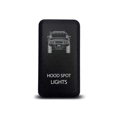 Ch4x4 Push Switch For Toyota Fj Cruiser Hood Spot Lights Symbol
