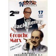 Jack Benny & Groucho Marx ( (DVD)) by ECHO BRIDGE ENTERTAINMENT