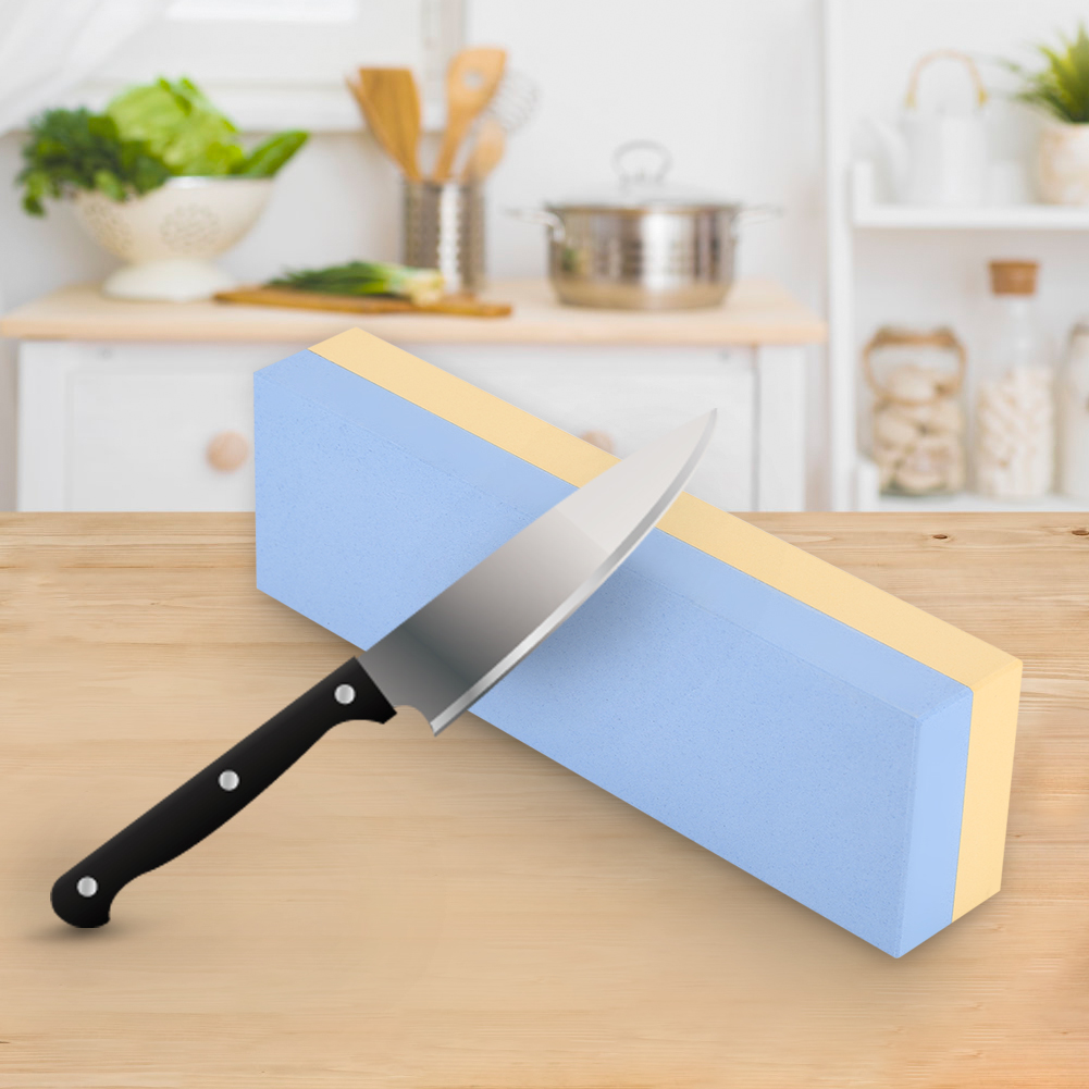 Knifun Premium Knife Sharpening Stone 2 Side Grit 2000/5000 Waterstone    Best Whetstone Sharpener