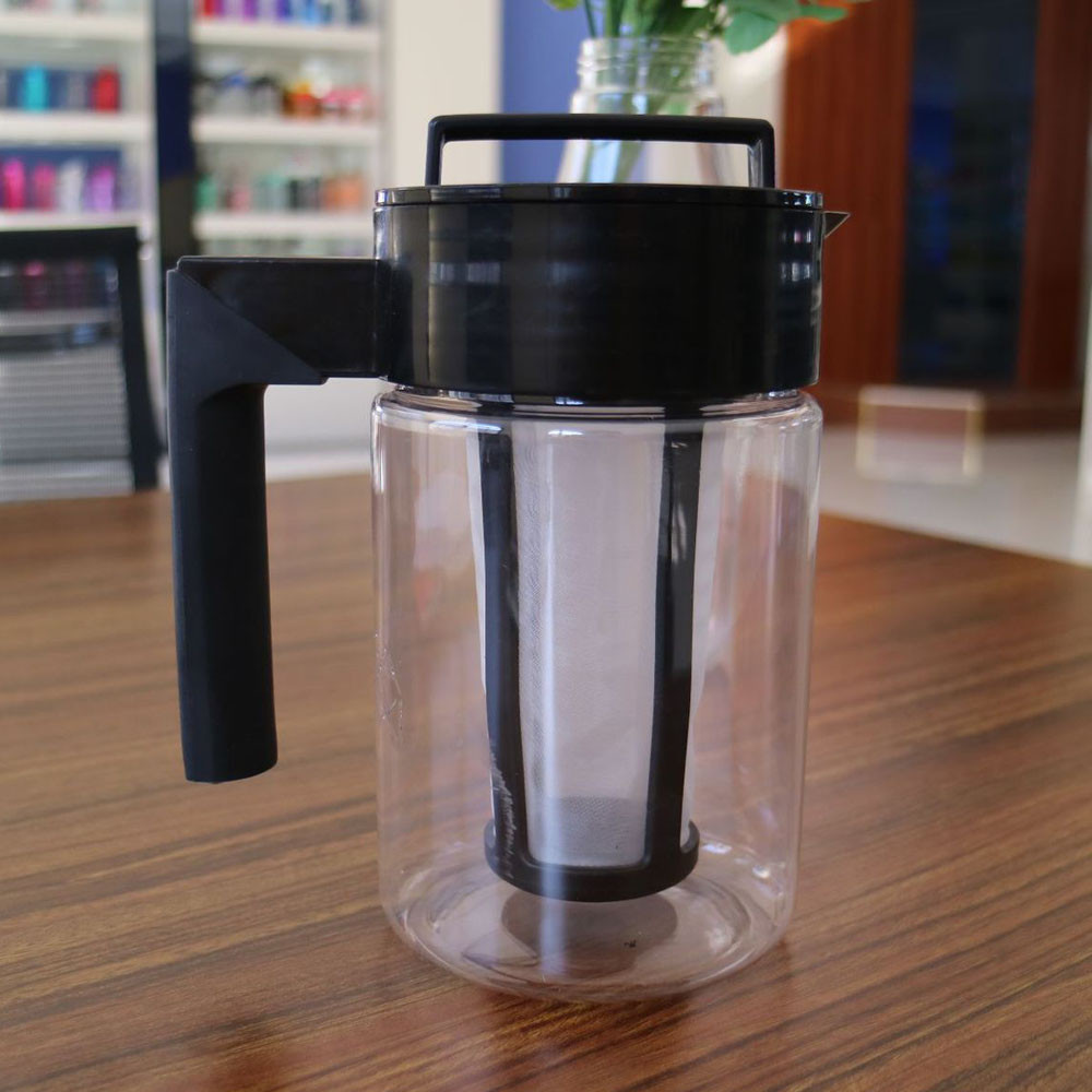 900ML Cold Brew Iced Coffee Maker Airtight Seal Silicone Handle Coffee Kettle UK