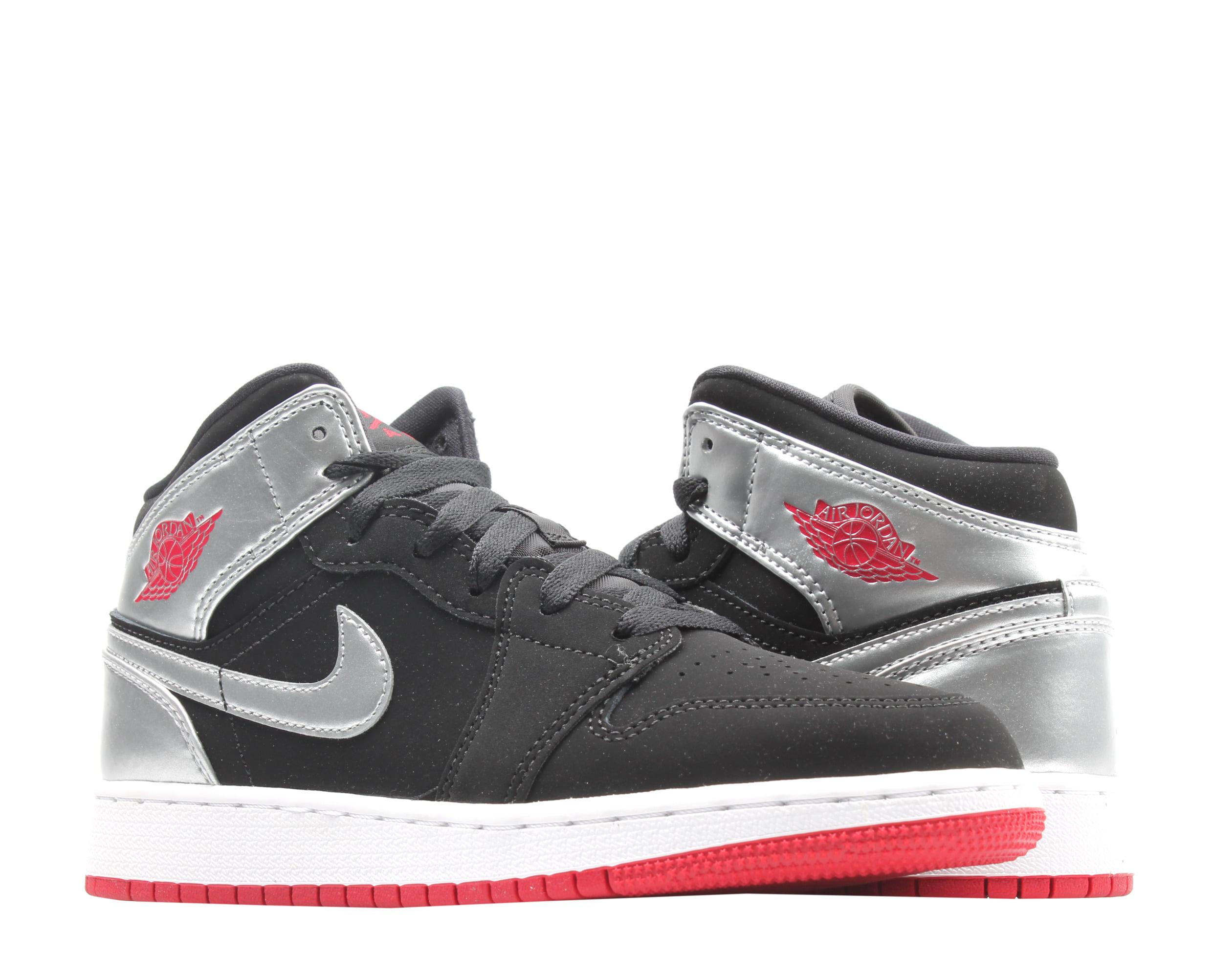 Jordan - Nike Air Jordan 1 Mid (GS) Big Kids Basketball Shoes Size 6.5 - Walmart.com