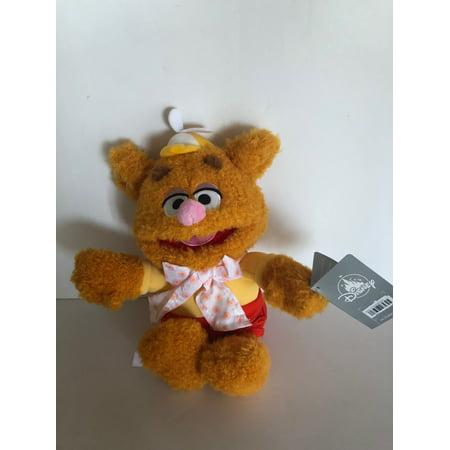 Muppets Mini - Disney Muppets Fozzie the Bear 12inc Mini Bean Bag Plush New with Tags