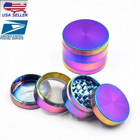 4 Piece Herb/Spice/Alloy Smoke Crusher 40mm Tobacco Grinder - Crusher Costume