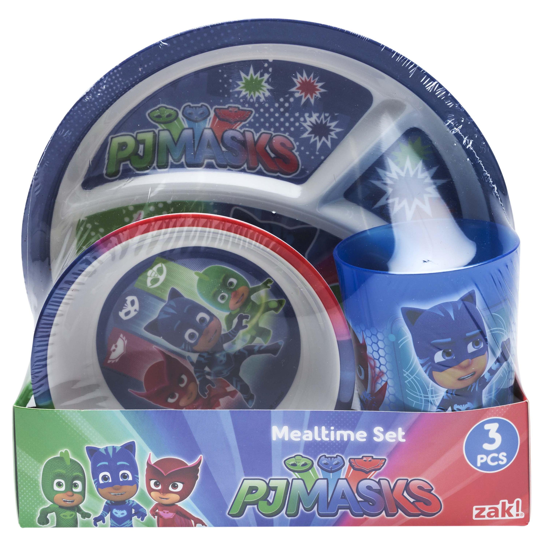 PJ Masks Catboy, Owlette & Gekko Melamine Plates