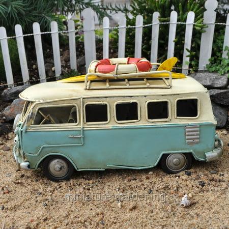 Miniature Beach Bus for Miniature Garden, Fairy Garden ()