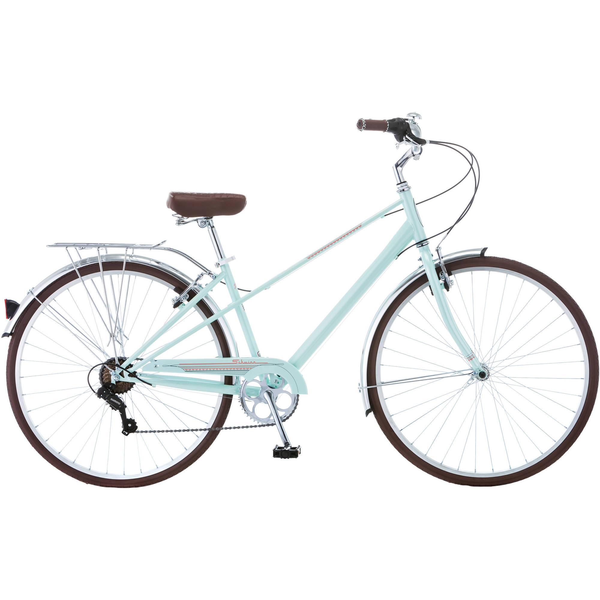 700c Schwinn Admiral Women's Hybrid Bike, Mint Green