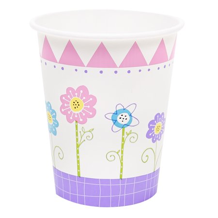 Butterfly Party 9oz Paper Cups (8) (Butterfly Party)