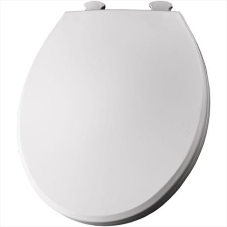 Bemis 800EC Lift Off Plastic Round Toilet Seat Available In Various Colors