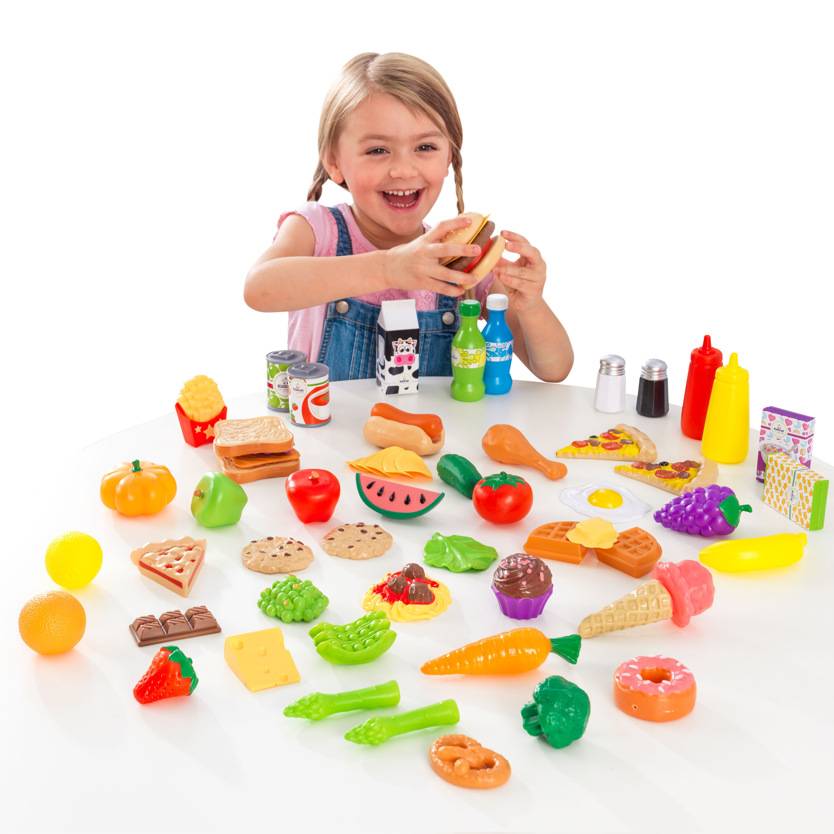 KidKraft 65-pc Play Food Set by KidKraft