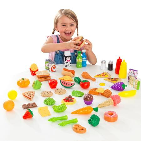 Developmental Play Food - KidKraft 65-pc Play Food Set