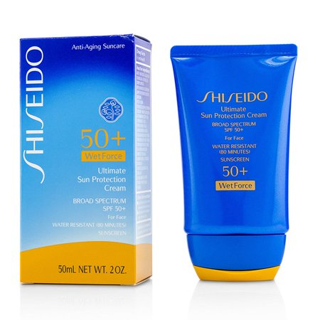 Shiseido Ultimate Sun Protection Cream WetForce For Face SPF 50+