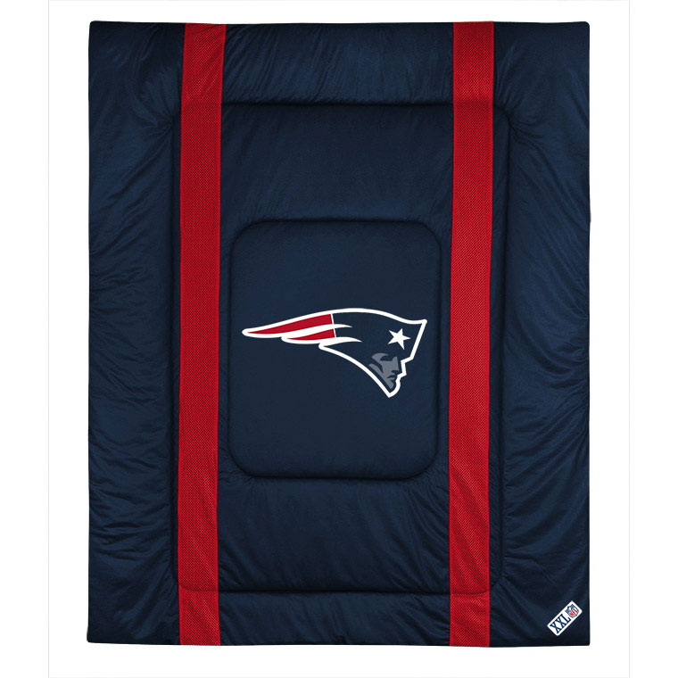 Sports Coverage NFL New England Patriots Comforter Footba...