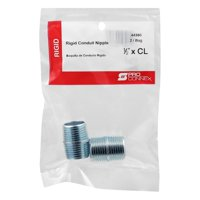 Sigma 44360 0.5 in. CL Galvanized Nipple  2 per Bag