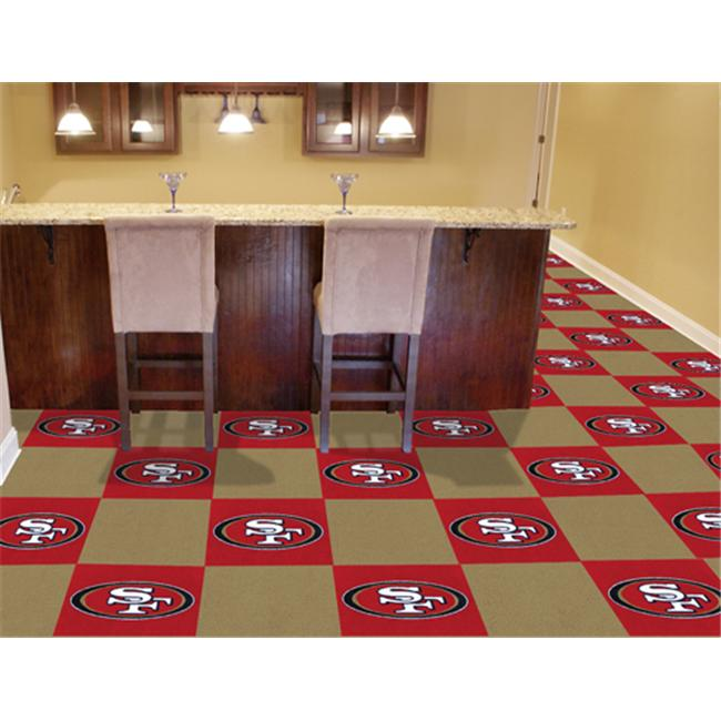 FanMats San Francisco 49ers Carpet Tile F0008570