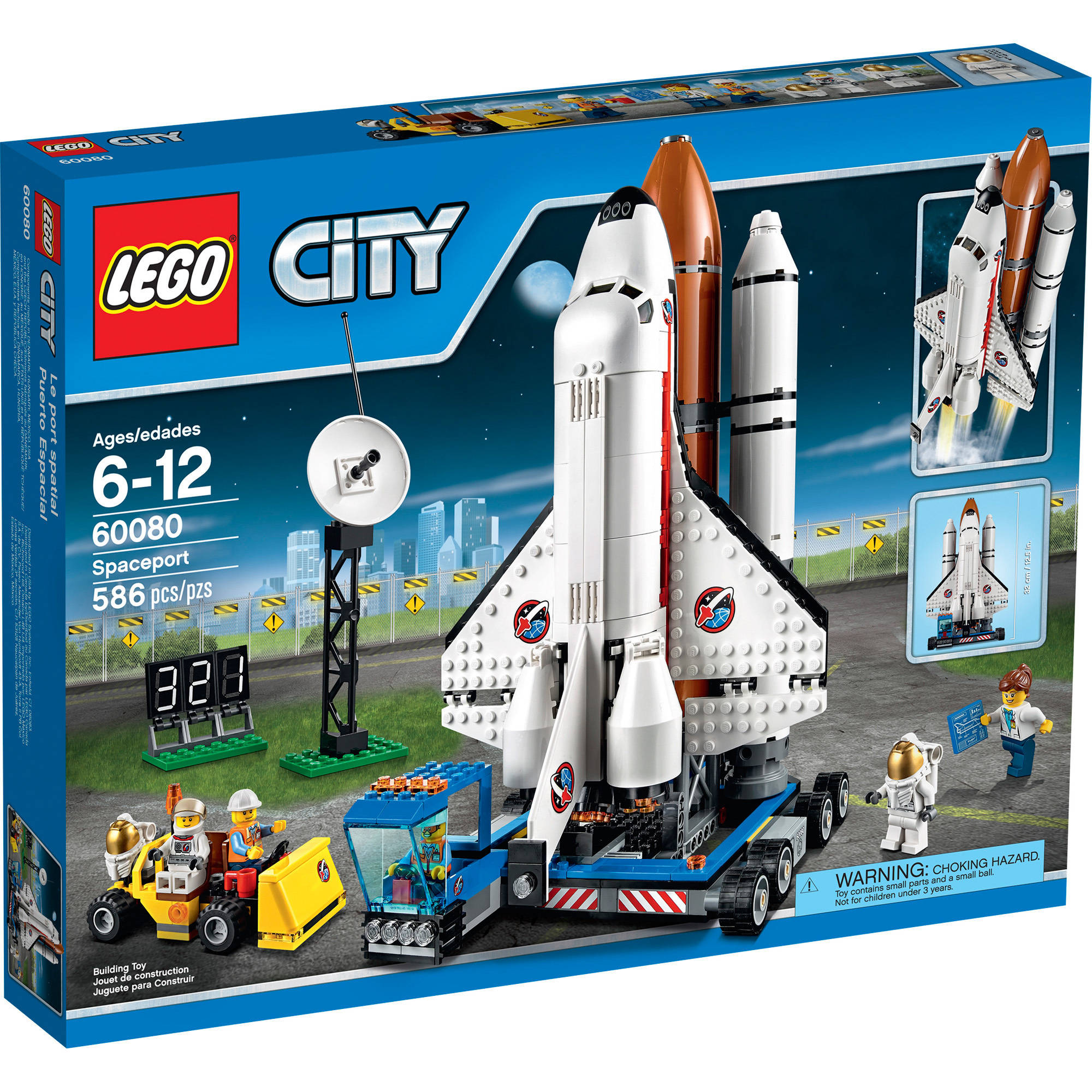 LEGO City Space Port Spaceport, 60080 - Walmart.com ...