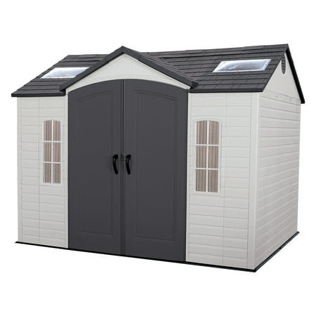 lifetime side entry 10 x 8 garden shed