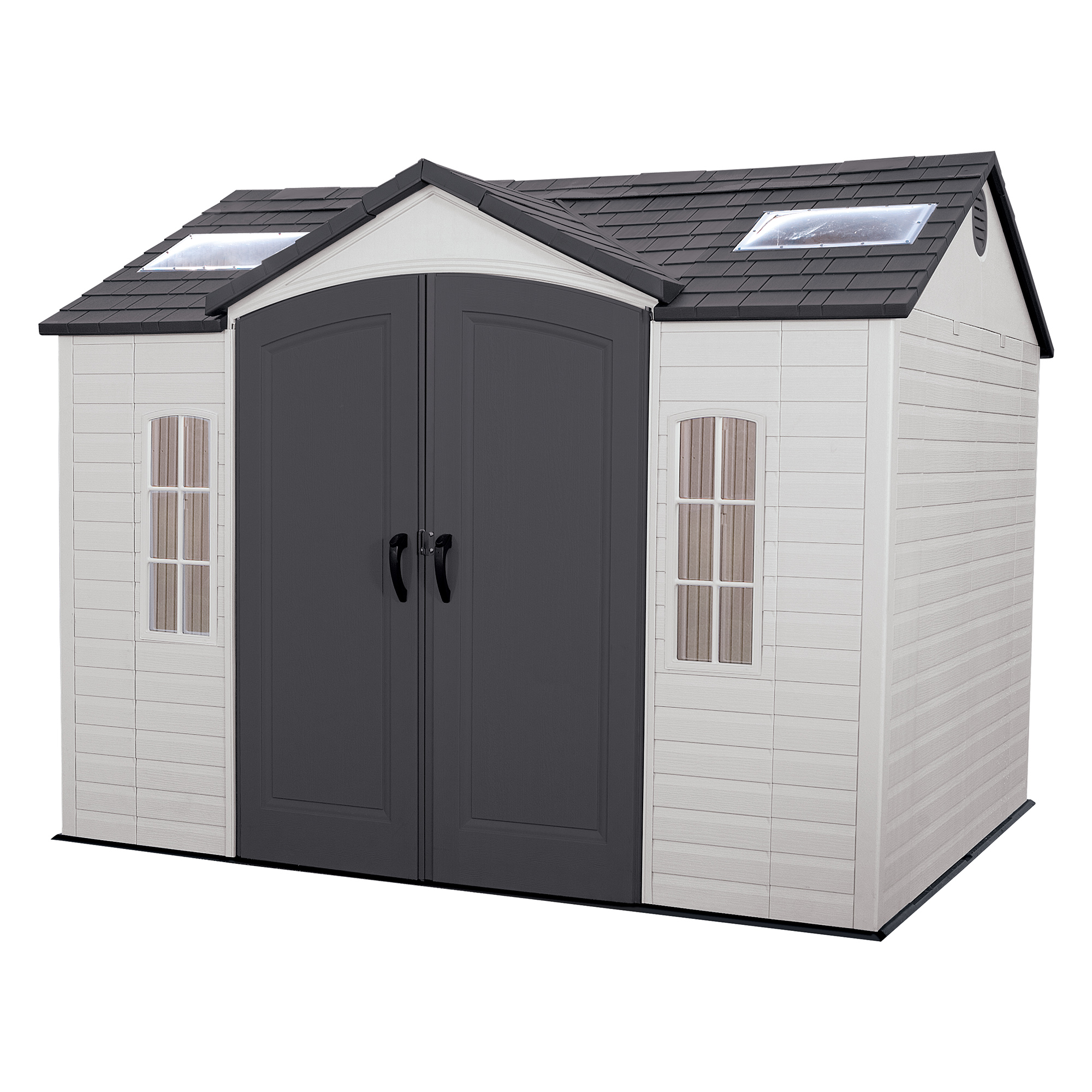 lifetime side entry 10u0027 x 8u0027 garden shed