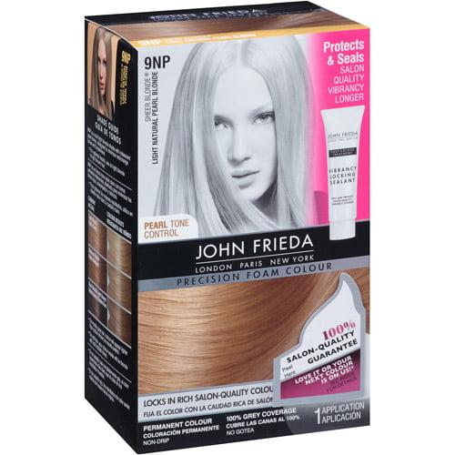John Frieda Precision Foam Hair Colour, 9NP Light Natural Pearl Blonde